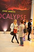 John Martin: Apocalypse. Tate Britain. Millbank. London. 19 September 2011.<br /> <br />  , -DO NOT ARCHIVE-© Copyright Photograph by Dafydd Jones. 248 Clapham Rd. London SW9 0PZ. Tel 0207 820 0771. www.dafjones.com.