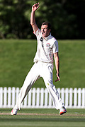 Will Williams of Canterbury. Canterbury vs. Central Districts Day 2, 1st round of the 2021-2022 Plunket Shield cricket competition at Hagley Oval, Christchurch, on Sunday 24th October 2021.<br /> © Copyright Photo: Martin Hunter/ www.photosport.nz