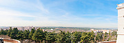 View of the Casa del Campo park from theRoyal Palace, Madrid, Spain