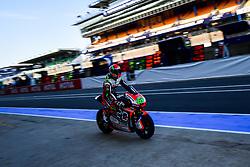 May 18, 2018 - Le Mans, France - 62 STEFANO MANZI (ITA) FORWARD RACING TEAM (CHE) SUTER MMX2 (Credit Image: © Panoramic via ZUMA Press)