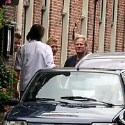 NLD/Naarden/20080814 - Maurits Regenboog en catherine Keyl gaan uit elkaar, Maurits en 2 zonen