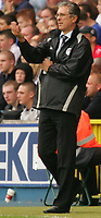 Photo: Frances Leader.<br />Millwall v Cardiff City. Coca Cola Championship.<br />24/09/2005.<br /><br />Cardiff's manager Dave Jones