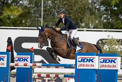Hendrickx Tibo, BEL, Igor van't Palmenhof<br /> Belgisch Kampioenschap Jeugd Azelhof - Lier 2020<br /> © Hippo Foto - Dirk Caremans<br /> 02/08/2020