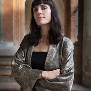Ferra, Italy, October 5, 2018. Astra Taylor, Canadian-American documentary filmmaker, writer, activist and musician.<br /> <br /> Ferrara, Italia, 5 Ottobre 2018. Astra Taylor, scrittrice, regista e attivista politica canadese-statunitense.
