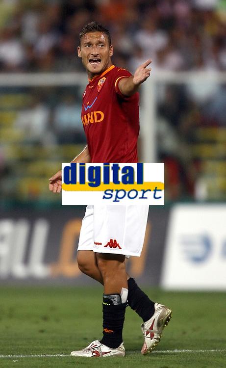 Fotball<br /> Italia<br /> Foto: Inside/Digitalsport<br /> NORWAY ONLY<br /> <br /> Francesco Totti (Roma)<br /> <br /> Friendly match<br /> 11 Aug 2007 <br /> Juventus v Roma (5-2)