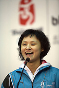 Gao Min (born September 7, 1970) is a Chinese diver who won gold medals in the springboard event of the 1988 and 1992 Olympic Games.