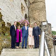 LUX/Luxemburg/20180523 - Staatsbezoek Luxemburg dag 2,  Koningin Maxima en Koning Willem Alexander en Groothertog Henri en Groothertogin Maria Teresa
