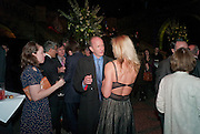 SIMON SEBAG-MONTEFIORE; LISA HILTON;, Orion Authors' Party celebrating their 20th anniversary. Natural History Museum, Cromwell Road, London, 20 February 2012.