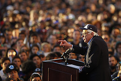 March 22, 2019 - San Diego, CA, USA - U.S. Senator Bernie Sanders, a Democratic candidate for president, speaks as he holds a campaign rally at Waterfront Park in San Diego on Friday, March 22, 2019. (Credit Image: © Hayne Palmour Iv/San Diego Union-Tribune/TNS via ZUMA Wire)