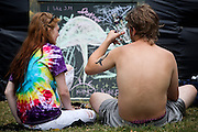 at the annual Hempfest 2012 in Seattle, Wash on August (xx), 2012.