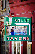 The J-Ville Tavern, Jacksonville, Oregon USA