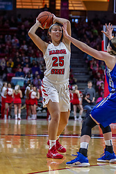 NORMAL, IL - December 20: Lexi Wallen during a college women's basketball game between the ISU Redbirds and the St. Louis Billikens on December 20 2018 at Redbird Arena in Normal, IL. (Photo by Alan Look)