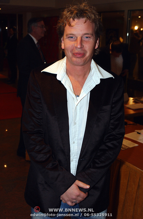 Harpengala 2003, Edwin Jansen