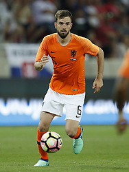 Davy Propper of Holland during  the International friendly match between Slovakia and The Netherlands at Stadium Antona Malatinskeho on May 31, 2018 in Trnava, Slovakia