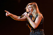 """Photos of the musician Ellie Goulding performing live on stage for the """"Delirium World Tour"""" at Madison Square Garden, NYC on June 21, 2016. © Matthew Eisman/ Getty Images. All Rights Reserved"""