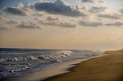 East Hampton Beach During A Sunset
