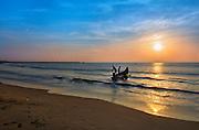 Tiruvottiyur Beach, Chennai, Tamil Nadu, India