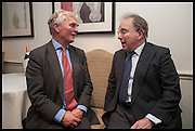 FRANCIS FULFORD; VISCOUNT STORMONT; , The hon Alexandra Foley hosts drinks to introduce ' Lady Foley Grand Tour' with special guest Julian Fellowes. the Sloane Club. Lower Sloane st. London. 14 May 2014