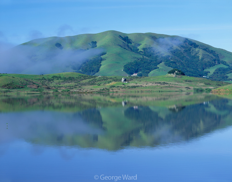 Black Mountain and Nicasio Reservoir,Marin County, California