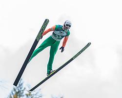 12.10.2014, Montafoner Schanzenzentrum, Tschagguns, AUT, OeSV, Oesterreichische Staatsmeisterschaften Ski Nordisch, im Bild Lukas Greiderer, (AUT)// during Austrian Nordic Ski Championships at the Montafoner Schanzenzentrum, Tschagguns, Austria on 2014/10/12. EXPA Pictures © 2014, EXPA/ Peter Rinderer