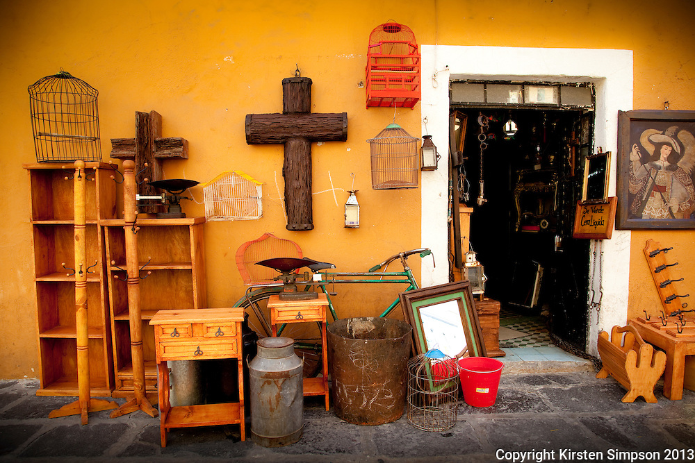 Shopfront in Puebla