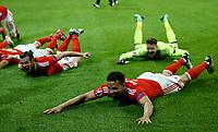 Gareth Bale and Hal Robson-Kanu (Wales) celebrating the victory. esultanza vittoria<br /> Lille 01-07-2016 Stade Pierre Mauroy Football Euro2016 Wales - Belgium / Galles - Belgio <br /> Quarter-finals. Foto Matteo Ciambelli / Insidefoto