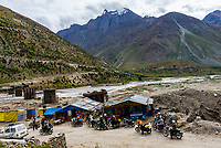 Village of Patsio, Leh-Manali Highway, Himachal Pradesh, India.