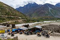 Village of Patsio, Leh-Manali Highway, Himachal Pradesh, India.