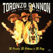 "Toronzo Cannon will release his second Alligator album, THE PREACHER, THE POLITICIAN OR THE PIMP on Friday, September 20, 2019. The songwriter, guitarist, vocalist and Chicago Transit Authority bus driver blazes his own visionary blues trail, fusing his original, keenly-detailed tales of everyday life with his muscular guitar playing. Blues Music Magazine says, ""Cannon has all the fire and spontaneity of the Chicago legends. His songwriting is a timely and original look at the world he sees by day on a bus and in blues clubs by night, and his assertive voice is the perfect vehicle to deliver the message."""