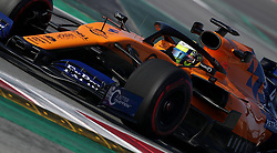 McLaren's Lando Norris during day four of pre-season testing at the Circuit de Barcelona-Catalunya.