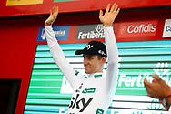 Podium, Michal Kwiatkowski (POL - Team Sky) during the UCI World Tour, Tour of Spain (Vuelta) 2018, Stage 3, Mijas - Alhaurin de la Torre 178,2 km in Spain, on August 27th, 2018 - Photo Luca Bettini / BettiniPhoto / ProSportsImages / DPPI