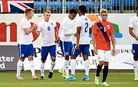 Fotball , 7. september 2015 ,  U21 , herrer<br /> Norge - England<br /> U21 men , Norway - England<br /> James Ward-Prowse , England scoring