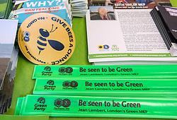 © Licensed to London News Pictures. 05/10/2018. Bristol, UK. Green Party Autumn Conference, held at Bristol City Hall. The key note speech by Co-leaders Sian Berry and Jonathan Bartley. Photo credit: Simon Chapman/LNP