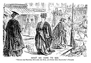 """What We Hope to See. """"Prudes for Proctors, Dowagers for Dons, and Sweet Girl Graduates.""""- Tennyson."""
