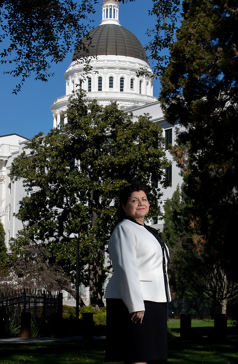 Corinna Martinez, PMP, senior project/program manager, Delegata photographed Monday, March 11, 2019 at the California State Capitol.