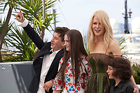 The Killing of a Sacred Deer  film photo call at the 70th Cannes Film Festival Monday 22nd May 2017, Cannes, France. Photo credit: Doreen Kennedy