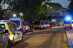 Police attacked London Eye