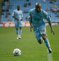 Photo: Steve Bond.<br /> Coventry City v Notts County. The Carling Cup. 14/08/2007.