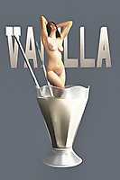 Is the nude woman in this fascinating piece of pop art sinking into the vanilla milkshake? We can't say. Nor can we be certain of what we are actually seeing. Is this a tiny woman in a normal-sized milkshake glass? Is the milkshake glass actually quite massive? No one can say for sure. Yet there is something about this piece that can absolutely captivate your imagination, even as you are not quite certain of what you are looking at. This piece can be enjoyed and installed in a variety of different spaces. You can certainly imagine this piece starting quite a conversation! .<br /> <br /> BUY THIS PRINT AT<br /> <br /> FINE ART AMERICA<br /> ENGLISH<br /> https://janke.pixels.com/featured/vanilla-jan-keteleer.html<br /> <br /> <br /> WADM / OH MY PRINTS<br /> DUTCH / FRENCH / GERMAN<br /> https://www.werkaandemuur.nl/nl/shopwerk/Pop-Art---Vanilla/438195/134