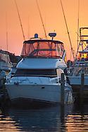 Luxury yachts in marina at The Sandestin Golf & Beach Resort, Destin, Florida
