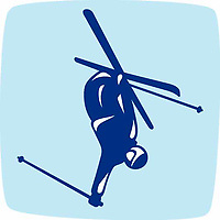 OLYMPIC GAMES VANCOUVER 2010 - VANCOUVER (CAN) - PHOTO : VANOC/COVAN / DPPI<br /> PICTOGRAMS - FREESTYLE SKIING