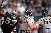NFL-San Diego Chargers at Oakland Raiders-Sep 28, 2003