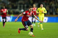 Nolan ROUX - 31.01.2015 - Nantes / Lille - 23eme journee de Ligue 1 -<br />Photo : Vincent Michel / Icon Sport
