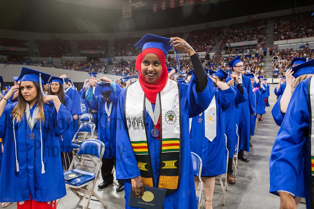 Gresham High School graduation at Memorial Coliseum