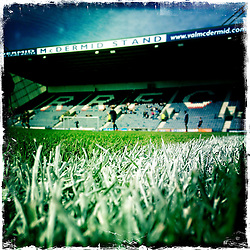 Raith Rovers home ground.<br /> Picture taken with the Hipstamatic iPhone photo app.