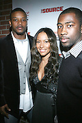 """l to r: Kerry Rhodes, Valiesha Butterfield and Guest at The Russell Simmons and Spike Lee  co-hosted""""I AM C.H.A.N.G.E!"""" Get out the Vote Party presented by The Source Magazine and The HipHop Summit Action Network held at Home on October 30, 2008 in New York City"""