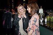 HANNAH TOINTON; KARA TOINTON, Absent Friends - press night  afterparty. Mint Leaf. Haymarket. London. Thursday 9 February 2012