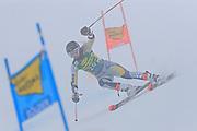 SOELDEN, AUSTRIA. OCTOBER 17 2020:  1st Women's Giant Slalom as part of the Alpine Ski World Cup in Solden on October 17, 2020; Run 1, Kristina Riis-Johannessen (NOR) ( Pierre Teyssot/ESPA Images-Image of Sport)