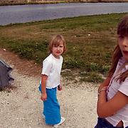 Vakantie Miami Amerika, Diana en Linda Janssen, Lake Harbouw, Clewiston