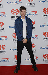September 23, 2017 - Las Vegas, Nevada, United States of America - Singer Louis Tomlinson attends the  2017 iHeart Radio Music Festival on  September 23, 2017  at the T-Mobile Arena in Las  Vegas , Nevada (Credit Image: © Marcel Thomas via ZUMA Wire)